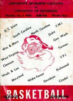 1950-12-07 UNC-Richmond Program