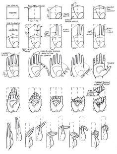 Drawing Tutorial Hand Design Reference 17 Ideas For 2019 Drawing Skills, Drawing Lessons, Drawing Techniques, Drawing Tutorials, Drawing Tips, Art Tutorials, Painting & Drawing, Drawing Hands, Drawing Drawing