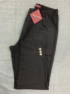 Spodnie z bengaliny Cevlar B03 kolor czarny - Big Sister