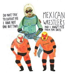 Thomas Howes #weird #illustration #villian