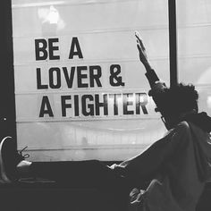Thanks for this G, @glennondoylemelton . I had quit fighting cos I was so bruised and battered from fighting the wrong kind of battles! Now I'm learning that to fight for love brings health and vitality to me and those around me. SO, new mantra: I'm a lover AND a fighter!