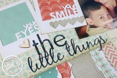 Stamp Away With Me: The Little Things