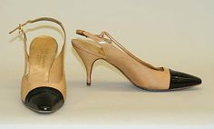 Shoes Chaussures en cuir Chanel - 1963