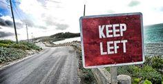 İngiltere'de trafik niçin soldan akar ?