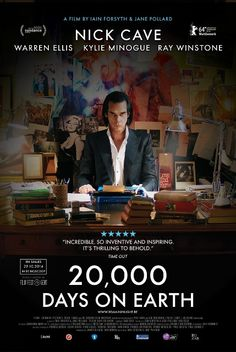'20,000 days on Earth' directed by Iain Forsyth, Jane Pollard