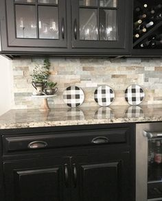 Modern Kitchen Stone Backsplash a modern great room that fits a family | hgtv, modern and televisions