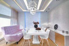 (do Arte Dizain. Toque, Pop, Colorful Houses, Dining Room, Colors, Credenzas, Popular, Pop Music