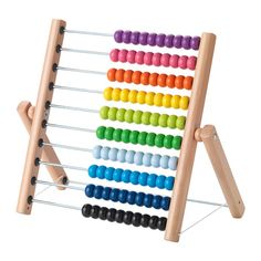 IKEA - MULA, Abacus, , One yellow, three greens and two blue ones. This abacus helps your child practice both maths and colors – and proudly show you their new skills.Develops fine motor skills and logical thinking. Ikea Kids Furniture, Home Furniture, Furniture Movers, Furniture Websites, Furniture Dolly, Furniture Logo, Luxury Furniture, Toddler Toys, Kids Toys