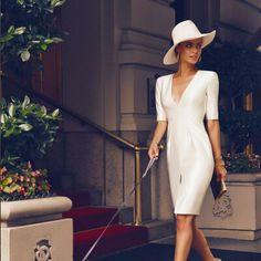 2015 nova moda casual sexy mulheres vestido europa e américa vestido chiffon mulheres senhoras vestido plus size mulher roupa vestido em Vestidos de Roupas e Acessórios Femininos no AliExpress.com | Alibaba Group