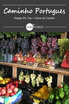 Etappe 3 . Fao > Viana do Castelo: Jakobsweg / Caminho Portugues / Camino Portugues; Porto (Portugal) > Santiago de Compostela (Spanien)