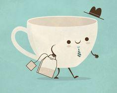 Super Cute illustrations by Skinny Andy @Tatyana Petkova Varela