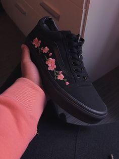 Vans Old Skool (Black/Pink) 櫻