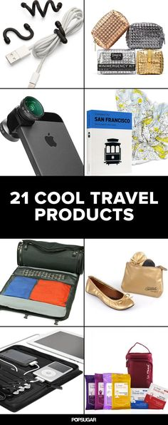 Travel Hacks: 21 Things That Will Make Your Trip So Much Easier - Gadgets Bags Travel, Travel Items, Travel Gadgets, Travel Bugs, Travel Hacks, Travel Products, Travel Things, Travel Backpack, Disney Travel