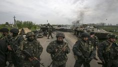 Eastern Ukraine in the control of rebels @India News