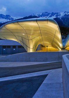 Hungerberg Station, Innsbruck, Austria