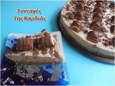 ΣΥΝΤΑΓΕΣ ΤΗΣ ΚΑΡΔΙΑΣ: Cheesecake Kinder Bueno Cheesecakes, Sweet Recipes, Tiramisu, Waffles, Recipies, Sweets, Breakfast, Ethnic Recipes, Desserts