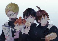 はち あゆみ🍙暫く多忙🦐 @ayumi__08 Tsukiyama Haikyuu, Haikyuu Karasuno, Kageyama Tobio, Haikyuu Manga, Haikyuu Fanart, Tsukishima Kei, Hinata, Haikyuu Characters, Anime Characters
