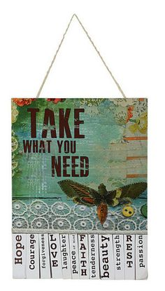 Take What You Need-Soar ** | Garden Gallery Iron Works