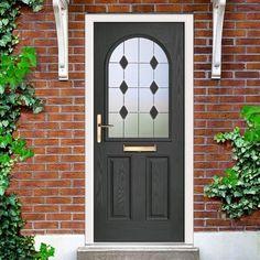 Entrance Doors – Page 4 Composite Front Doors Uk, House Entrance, Entrance Doors, Grp Doors, Door Price, Glass Panel Door, External Doors, Aluminium Doors, Arquitetura
