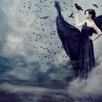 Dark in the night, The moon had gone to hide, There was terror, Blood like stain all over the ground, The clouds roared and rumbled in astonishment. Alima whispered with tears in her voice, Her fac…