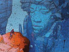 Emociones eléctricas, Jean Giraud - Hendrix Moebius 1
