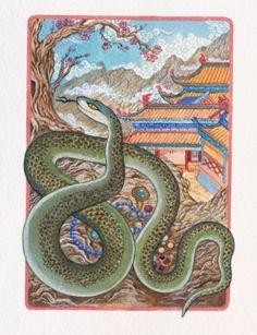 Horóscopo chino Mayo 2013: Serpiente de Fuego. Clic en la imagen para ver las predicciones.