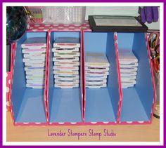 Lavenderstamper: Stampin up de stockage