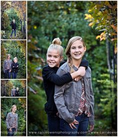 utah teen photographer carrie owens photographs sisters at her studio