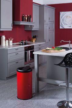 Peinture couloir deco pinterest for Poubelle cuisine moderne