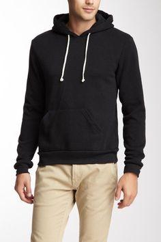 Hoodlum Eco-Fleece Pullover Hoodie by Alternative Apparel Men