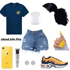 Wear or Tear? Rate this fit out of 1-10, be honest. (If viewing make sure to follow @bad.bih.fits for more.) • • ~ Requested!!! @wavvytrend… Cute Lazy Outfits, Baddie Outfits Casual, Swag Outfits For Girls, Teenage Girl Outfits, Cute Swag Outfits, Dope Outfits, Teen Fashion Outfits, Retro Outfits, Girly Outfits