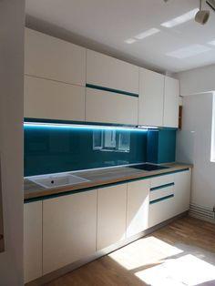 Bucatarii | Inova Design Kitchen Racks, Kitchen Cabinets, Indian Bedroom Design, Kitchen Room Design, Kitchen Inspiration, House Plans, Home Decor, Plastering, Kitchen