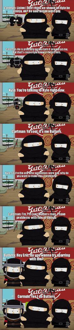 South Park Naughty Ninjas