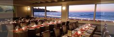 When visiting San Diego...You have to dine at the most romantic restaurant The Marine Room with the Famed Chef Bernard Guillas!