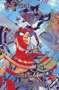Spider-man: Homecoming, Mondo realizza un fantastico poster