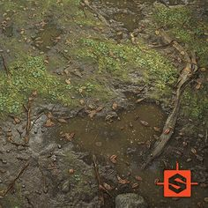 Full procedural tilling material for games. Sub D, Yamamoto, Game Art, City Photo, Environment, Backgrounds, Texture, 3d, Artwork