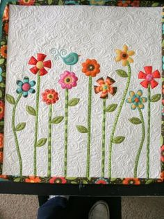 Simple pattern & beautiful quilting!! Love this!!