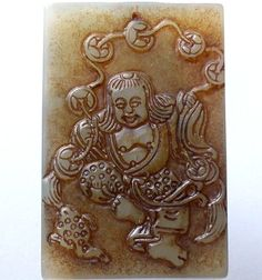 CHINESE Old Jade Hand Carved Chinese Forest Frog Offering Treasure Amulet QZ514