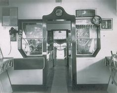 USS Macon Control Car interior - I think it's the navigation room.  (Give a shout out if you know the actual room name.)