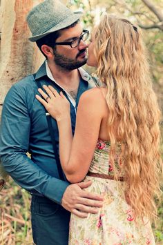 Hipster engagement shoot | The Brides Tree - Sunshine Coast Wedding