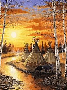 .The native life