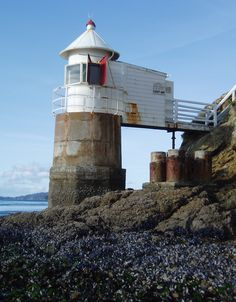 French Pass Lighthouse was built on the mainland and was first lit on 1 October, 1884. French Pass a narrow and treacherous stretch of water that separates D'Urville Island, at the north end of the South island of New Zealand.