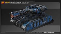 ArtStation - 3D & 2D Concepts by Stephane Chasseloup / Grafxbox.com, Stef Chasseloup