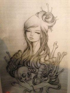 audrey kawasaki tattoo - Google Search