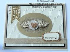 Affection collection, ticket duo punch, embossing... gold and silver, dry honeycomb embossing folder from stampin' up