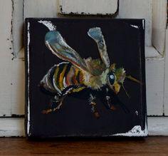 Little Bee by JJHowardFineArt on Etsy