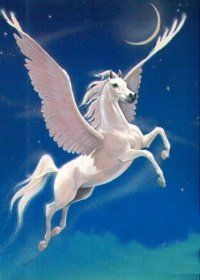 Since then, the image of a horse with wings has persisted in stories and culture, whether these horses are named Pegasus or another name. Description from tvtropes.org. I searched for this on bing.com/images