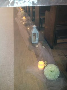 Tuile, roses balls, electric candle and lanterns Lanterns, Balls, Groom, Electric, Wedding Day, Roses, Candles, Canning, Weddings