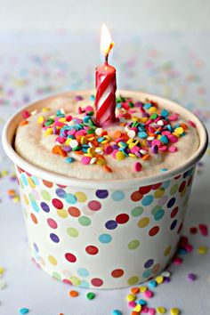 When someone you care about is away from home for their birthday, send them a Birthday Party in a Box, complete with cake and frosting! Healthy Birthday Cakes, Diy Birthday Cake, Birthday Mug, Teen Birthday, Birthday Ideas, Happy Birthday, Birthday Care Packages, Mug Cake Microwave, Cake Shapes