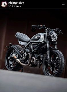 Ducati Scrambler Custom, Cafe Racer Motorcycle, Custom Motorcycles, Custom Bikes, Custom Cafe Racer, Cafe Racer Build, Moto Style, Street Bikes, Cool Bikes